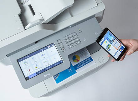 Managed Print Services of Brother Australia offer the latest technology with financial flexibility.